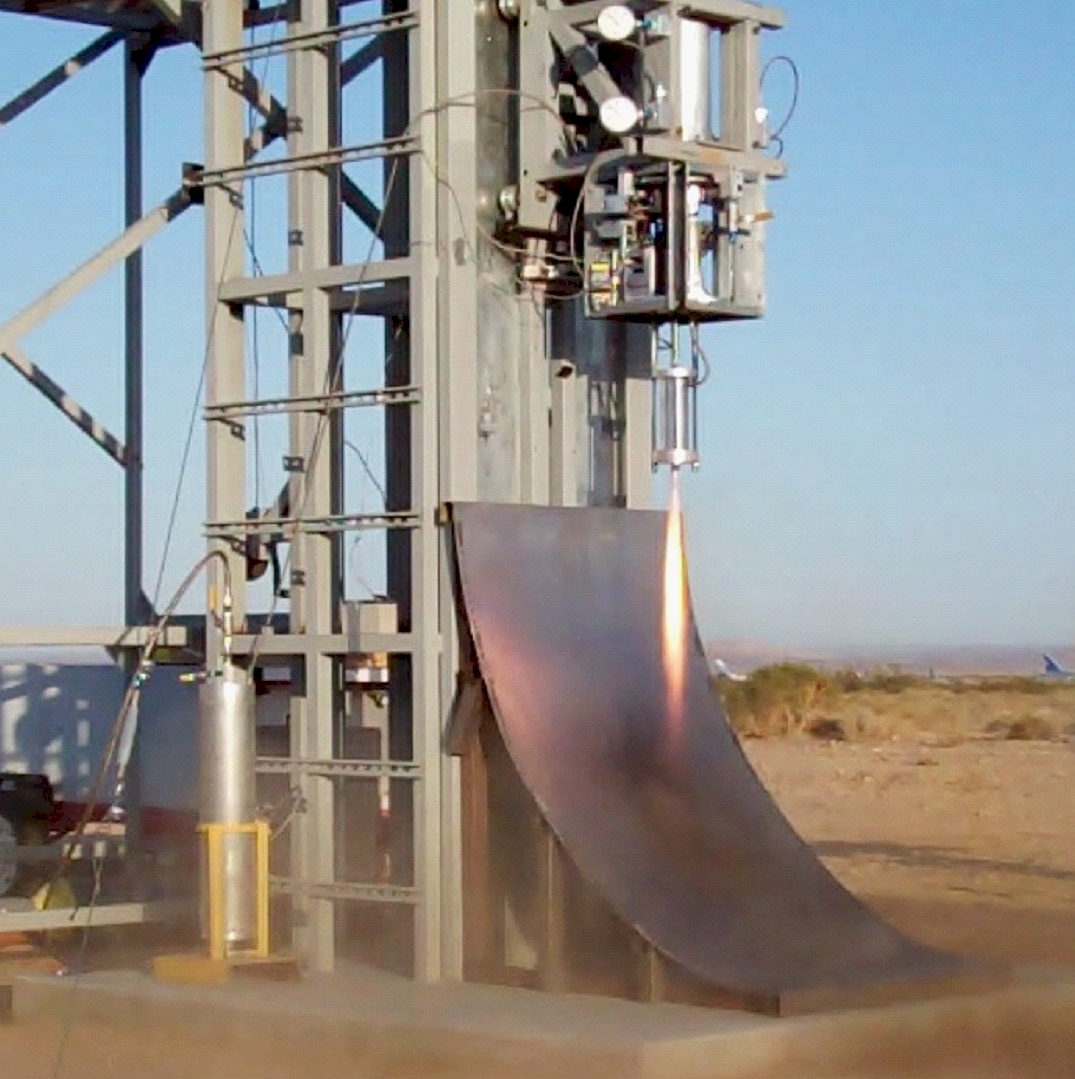 Vernier thruster test